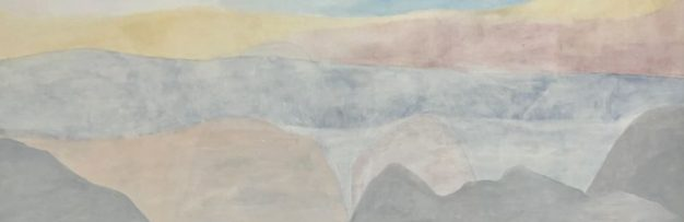 Ethereal paintings of mountains by Jan Sebastian Koch that pay homage to his adopted home of Norway