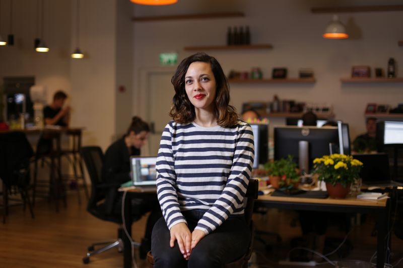 Gali Erez on working in-house for Wix, her love of UX and how it feels to solve web design problems