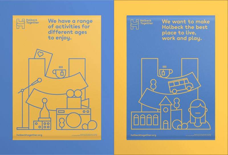 Holbeck Together's friendly new identity looks to put community at its heart