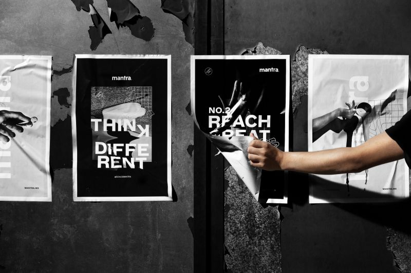 Mexican creative agency Mantra uses repetition to represent the importance of teamwork