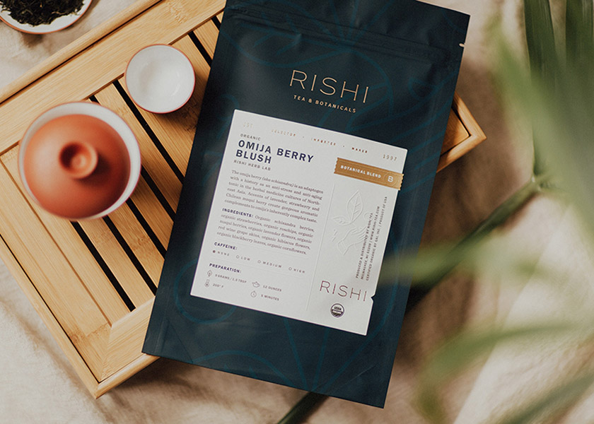 Rishi Tea Refreshes Brand With Compelling Packaging